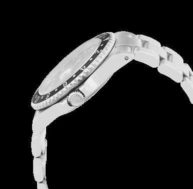 View 2. Thumbnail of Lot 103. GMT-Master II, Ref. 16710     Montre bracelet en acier avec deux fuseaux horaires et date    Stainless steel dual time zone wristwatch with date and bracelet     Vers 1999    Circa 1999.