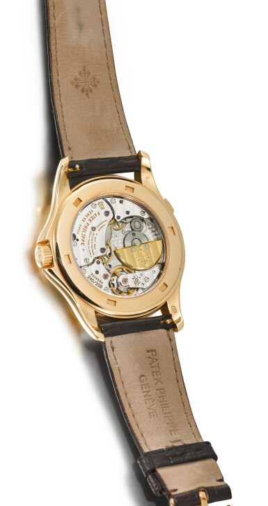 View 3. Thumbnail of Lot 32. PATEK PHILIPPE | REFERENCE 5130, A BRAND NEW PINK GOLD WORLD TIME WRISTWATCH, CIRCA 2006.