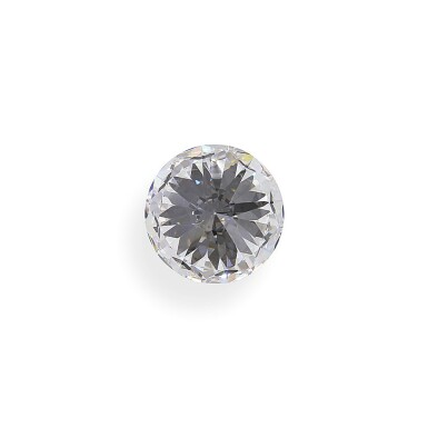 View 5. Thumbnail of Lot 5. A 2.56 Carat Round Diamond, D Color, Internally Flawless.