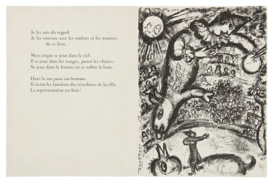 MARC CHAGALL | THE CIRCUS: ONE PLATE (M. 526; SEE C. BKS. 68)