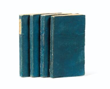 View 1. Thumbnail of Lot 8. Les Liaisons dangereuses. [Paris], 1782. 4 vol. in-12. Broché..