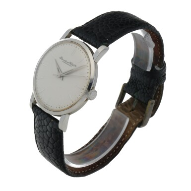 View 2. Thumbnail of Lot 175. STAINLESS STEEL WRISTWATCH CIRCA 1956.