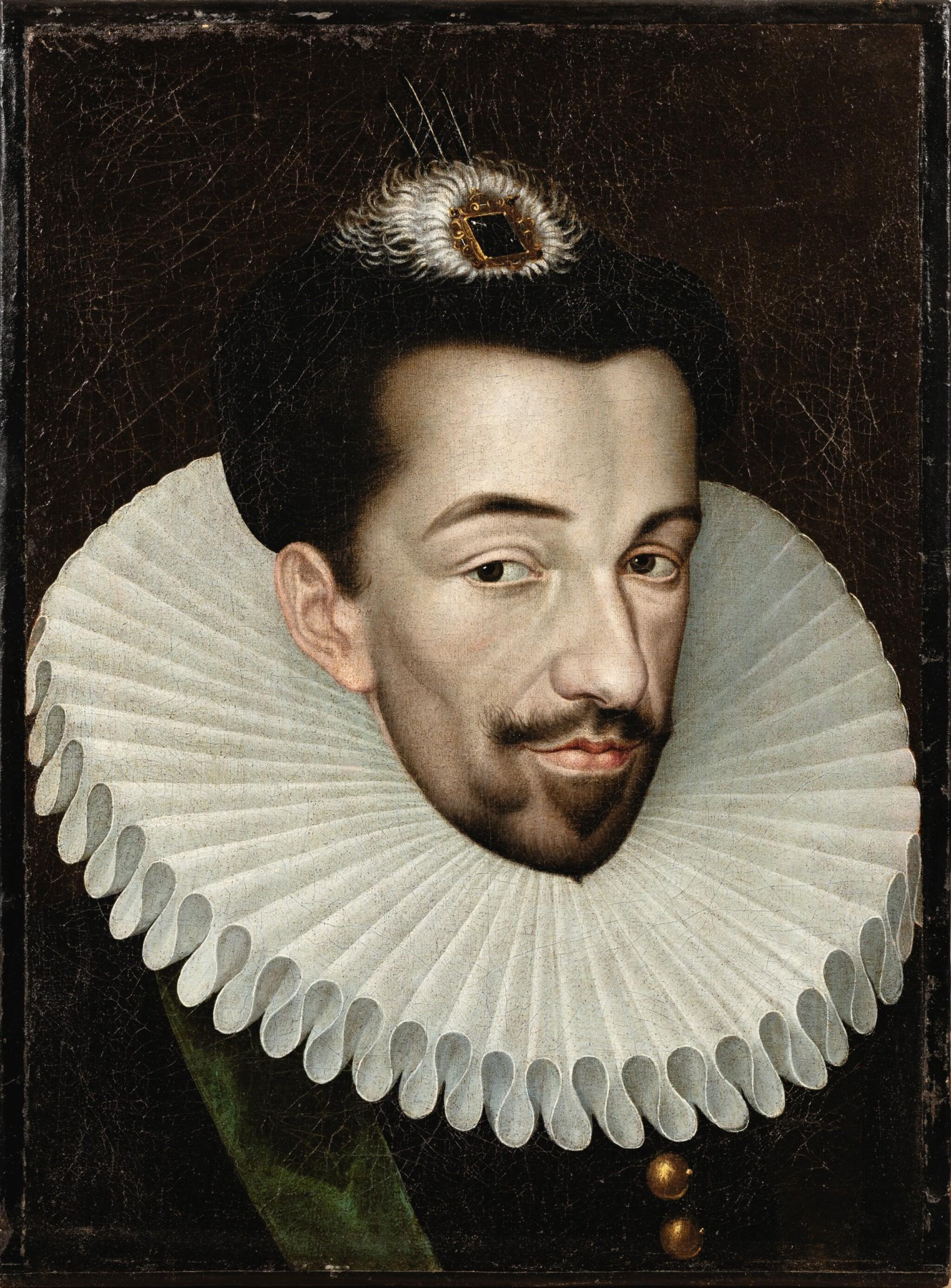 View full screen - View 1 of Lot 10. Portrait of Henri III (1551-1589) .