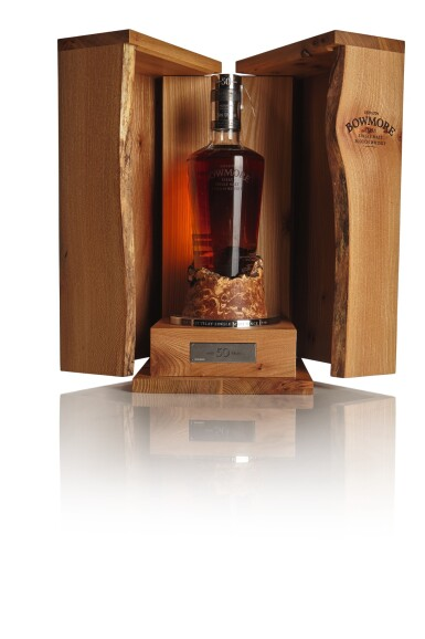 View 3. Thumbnail of Lot 324. BOWMORE 50 YEAR OLD 40.7 ABV 1961  .