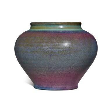 View 2. Thumbnail of Lot 197. A 'Jun' purple-splashed jar, Yuan / Ming dynasty | 元 / 明 鈞窰天藍釉紫斑罐.