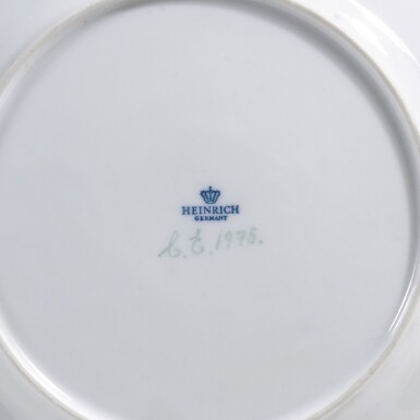 View 5. Thumbnail of Lot 46. A ROYAL COPENHAGEN 'FLORA DANICA' PART SERVICE AND A BING & GRONDHAL PART DINNER SERVICE, 20TH CENTURY.