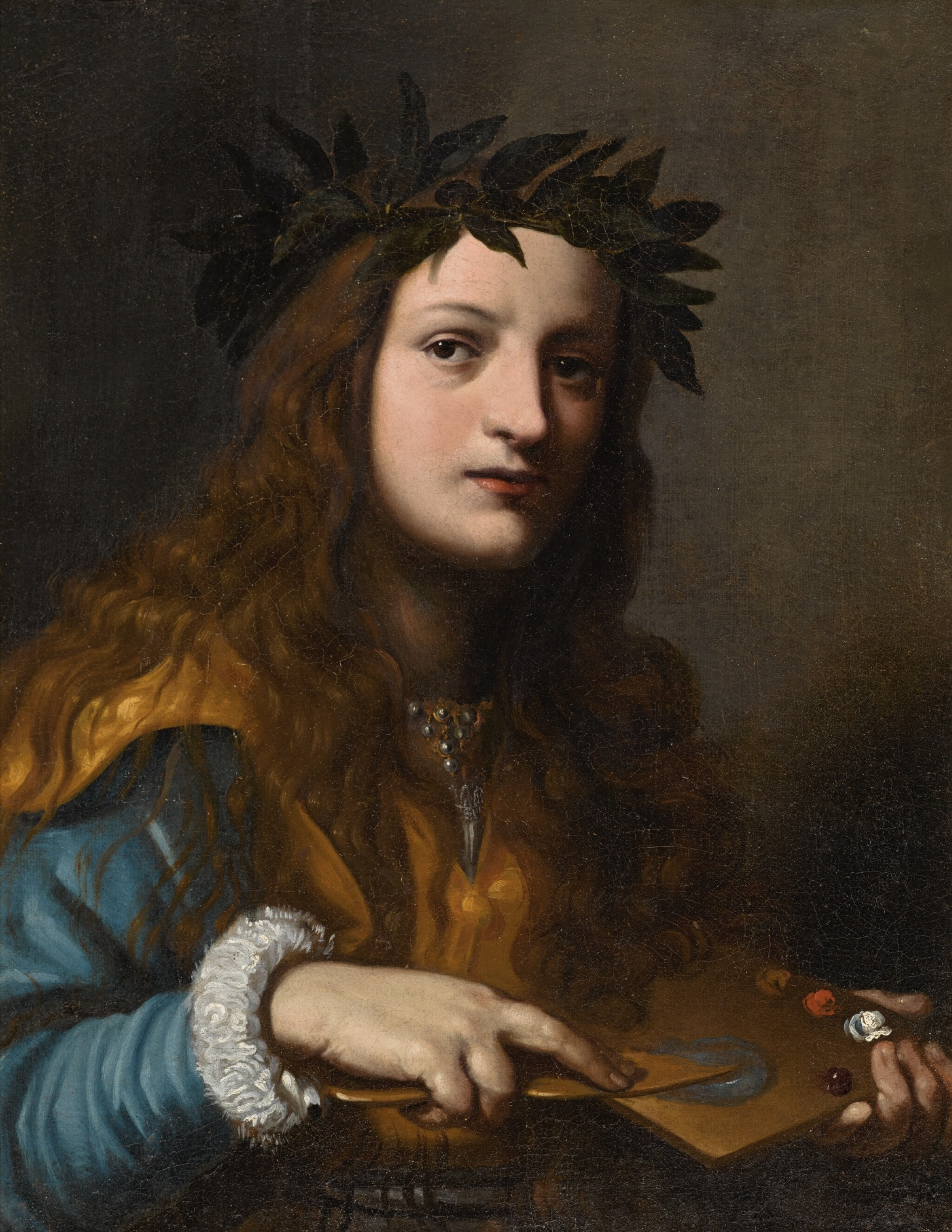 FRANCESCO LUPICINI |  Allegory of Painting