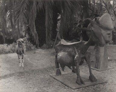 View 1. Thumbnail of Lot 67. ANDRÉ VILLERS | SHE-GOAT, VALLAURIS.