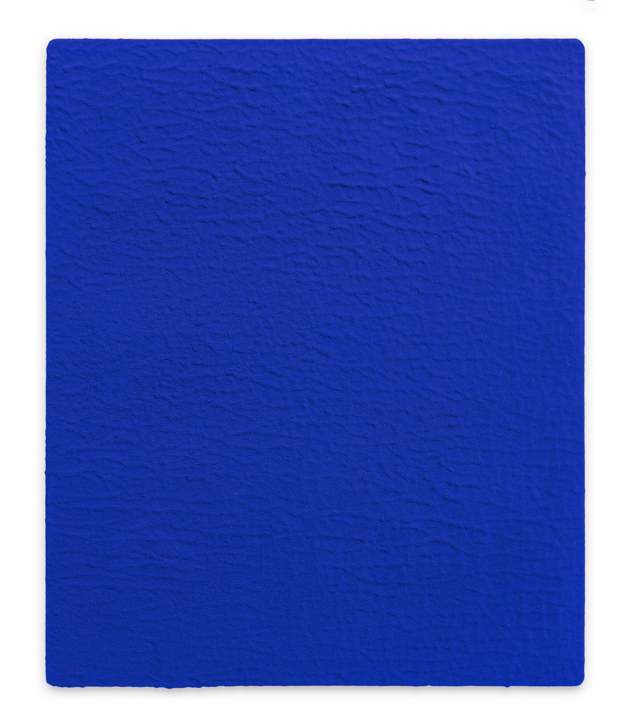 View full screen - View 1 of Lot 3. Monochrome bleu sans titre (IKB 19)            .