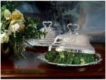 A PAIR OF GEORGE III SILVER VEGETABLE DISHES AND COVERS, PAUL STORR, LONDON, 1806/08