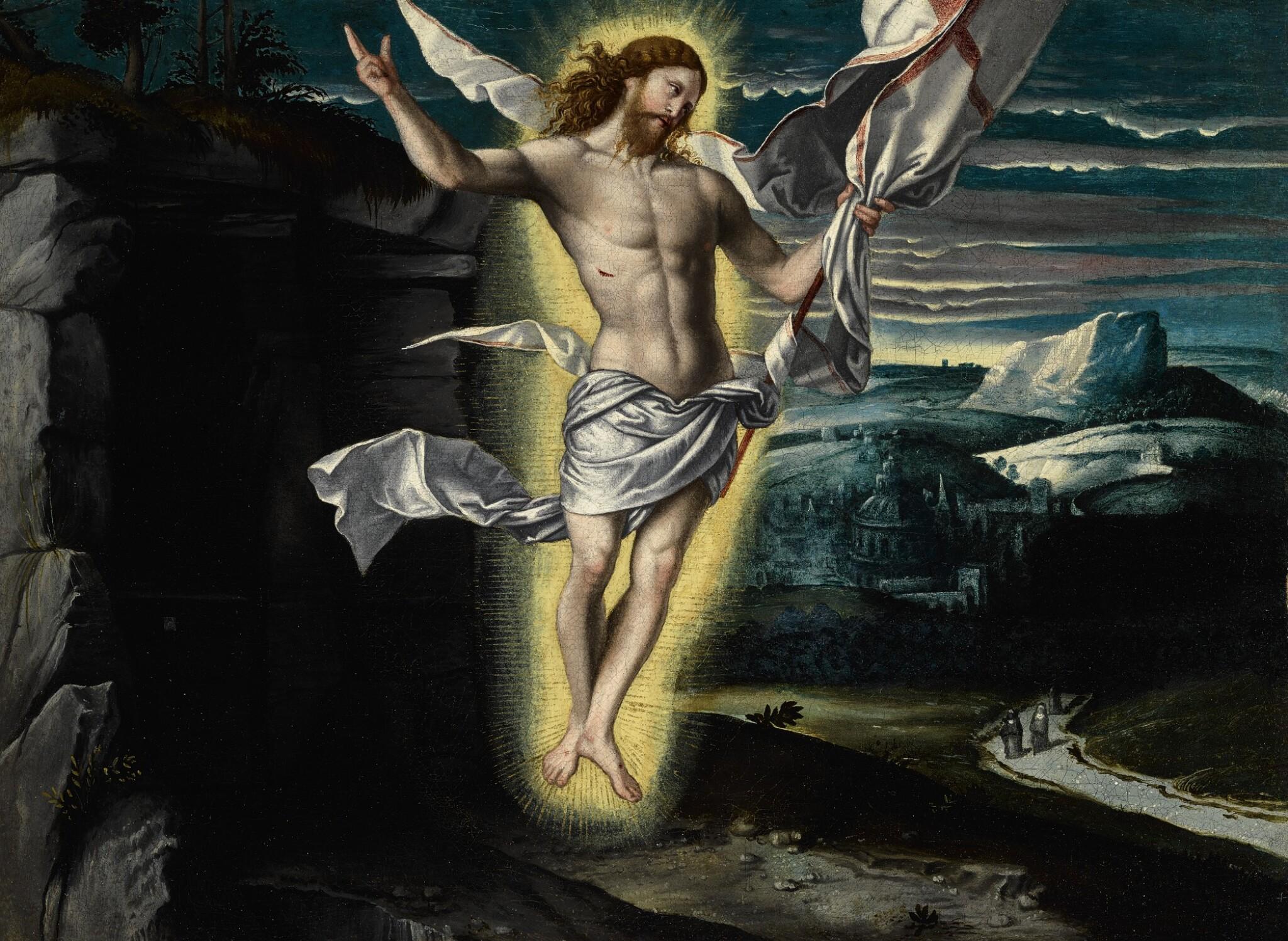 View full screen - View 1 of Lot 15. GIOVANNI BATTISTA MORONI | THE RESURRECTION OF CHRIST.