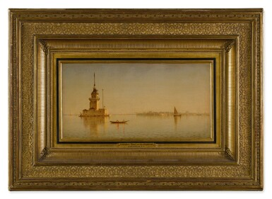 View 2. Thumbnail of Lot 24. Leander's Tower on the Bosphorus.