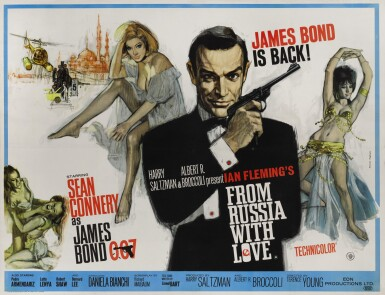 View 1. Thumbnail of Lot 19. FROM RUSSIA WITH LOVE (1963) POSTER, BRITISH.
