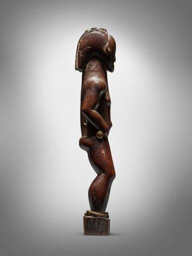 View 4. Thumbnail of Lot 73. Fang Figure, Gabon.