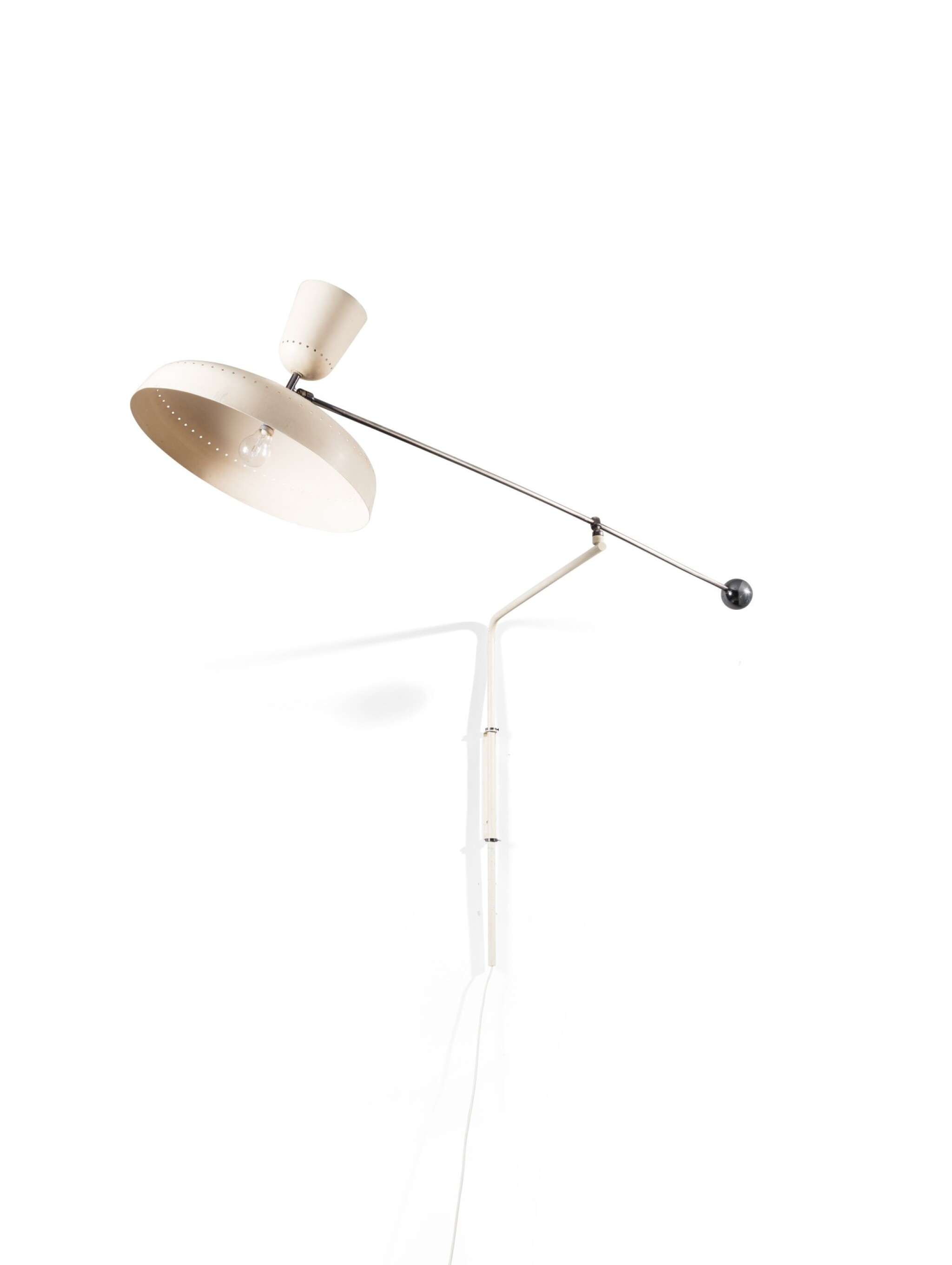 View full screen - View 1 of Lot 8. G1 wall light, designed in 1951.
