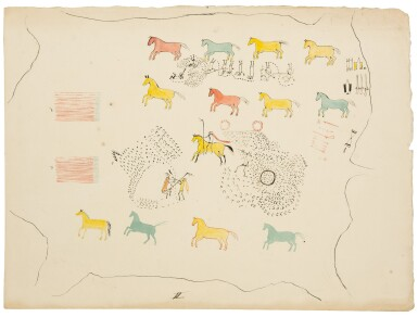 View 3. Thumbnail of Lot 213. Kurz, Rudolf Friedrich | Three original drawings.