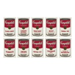 ANDY WARHOL | CAMPBELL'S SOUP I (F. & S. II.44-53)