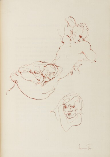View 5. Thumbnail of Lot 12. JEAN GENET AND LEONOR FINI | LA GALÈRE. (PARIS: PRINTED FOR THE AUTHOR BY JACQUES LOYAU) 1947.
