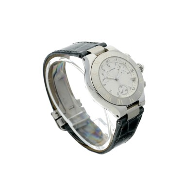View 3. Thumbnail of Lot 8. REFERENCE 2996 CHRONOSCAPH 21 A STAINLESS STEEL CHRONOGRAPH WRISTWATCH WITH DATE, CIRCA 2005.