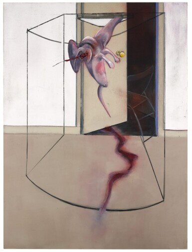 View 3. Thumbnail of Lot 105. FRANCIS BACON | TRIPTYCH INSPIRED BY THE ORESTEIA OF AESCHYLUS.