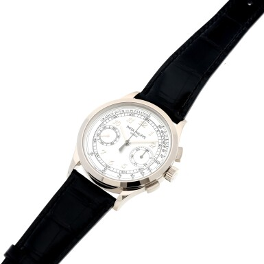 View 6. Thumbnail of Lot 168. REFERENCE 5170G A WHITE GOLD CHRONOGRAPH WRISTWATCH WITH PULSATIONS DIAL, CIRCA 2017.