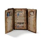 CANON D'AUTEL   IN THREE PARTS. LOUIS XIV ERA. [COMPOSÉ DE TROIS VOLETS. EPOQUE LOUIS XIV.]