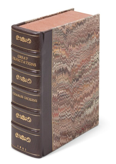 View 4. Thumbnail of Lot 187. Dickens, Great Expectations, 1861, Tauchnitz edition .