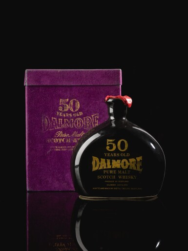 View 2. Thumbnail of Lot 244. THE DALMORE 50 YEAR OLD  CERAMIC DECANTER 52.0 ABV 1926  .