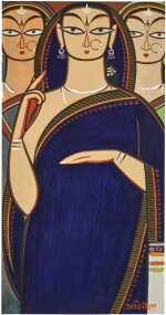 JAMINI ROY |  UNTITLED (THREE WOMEN)