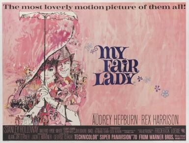 My Fair Lady (1964) poster, British