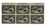 Trans-Mississippi 1898 $1.00 Black (292)