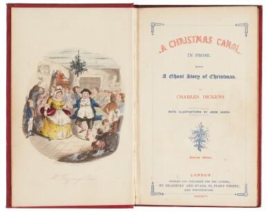 Dickens, A Christmas Carol, 1846, eleventh edition, first Bradbury and Evans edition