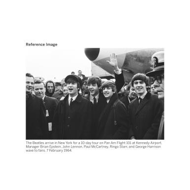 View 4. Thumbnail of Lot 104. THE BEATLES | Archive related to taxation of thefirst Beatles tour of the United States,containing three full band signatures, andone signature fromBrian Epstein, 1964.