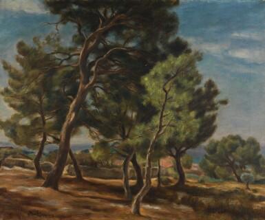 View 1. Thumbnail of Lot 14. JÓZEF PANKIEWICZ   VERDON, PROVENCE.