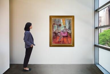 View 4. Thumbnail of Lot 69. Portrait of the Ballerina Vera Trefilova.