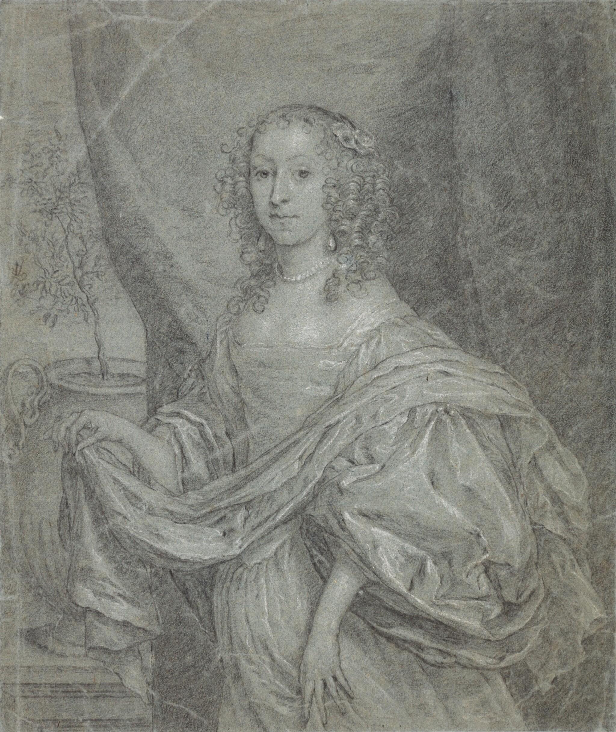 View full screen - View 1 of Lot 38. Portrait of Juffrouw Louisa de Vries of Dordrecht.