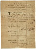 Washington, George. Discharge document signed, 9 June 1783
