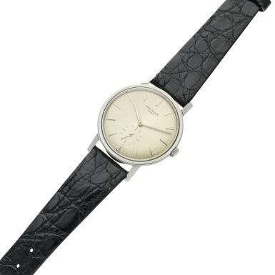View 6. Thumbnail of Lot 237. Reference 3466  A stainless steel automatic wristwatch, Made in 1963.