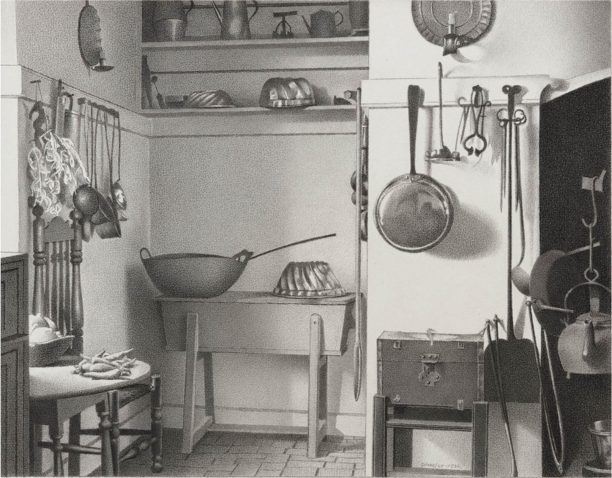 View 1 of Lot 7. Kitchen of Governor's Palace, Williamsburg, Va..