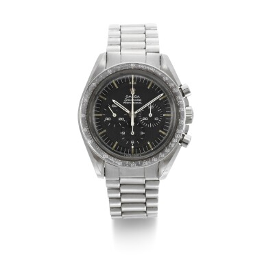 View 1. Thumbnail of Lot 203. 'ORIGINAL MOONWATCH' SPEEDMASTER REFERENCE 105'012-66   STAINLESS STEEL CHRONOGRAPH WRISTWATCH WITH REGISTERS, CIRCA 1966 .
