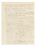 Lettre à Lou, 7 janvier 1915. 2 p. in-4. Mon amour pour toi est [...] un petit astre