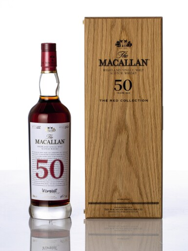 View 1. Thumbnail of Lot 5518. The Macallan The Red Collection 50 Year Old 45.1 abv NV (1 BT70).
