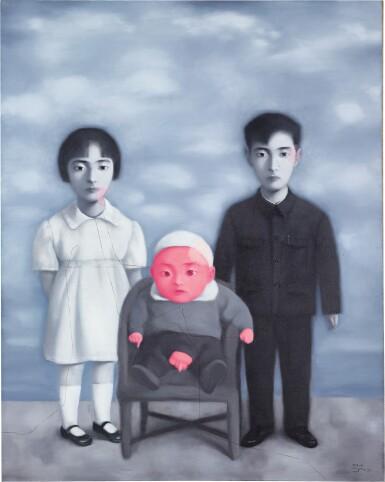 View 1. Thumbnail of Lot 1125. ZHANG XIAOGANG 張曉剛 | BLOODLINE-BIG FAMILY: FAMILY PORTRAIT 血緣-大家庭:全家福.