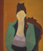 Girl in Stocking Hat