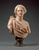 ITALIAN, PROBABLY ROME, LATE 17TH/ EARLY 18TH CENTURY | BUST OF APOLLO