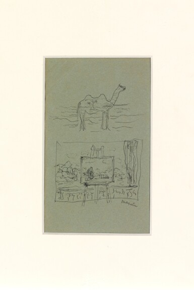 View 2. Thumbnail of Lot 60. Chameau et fenêtre.