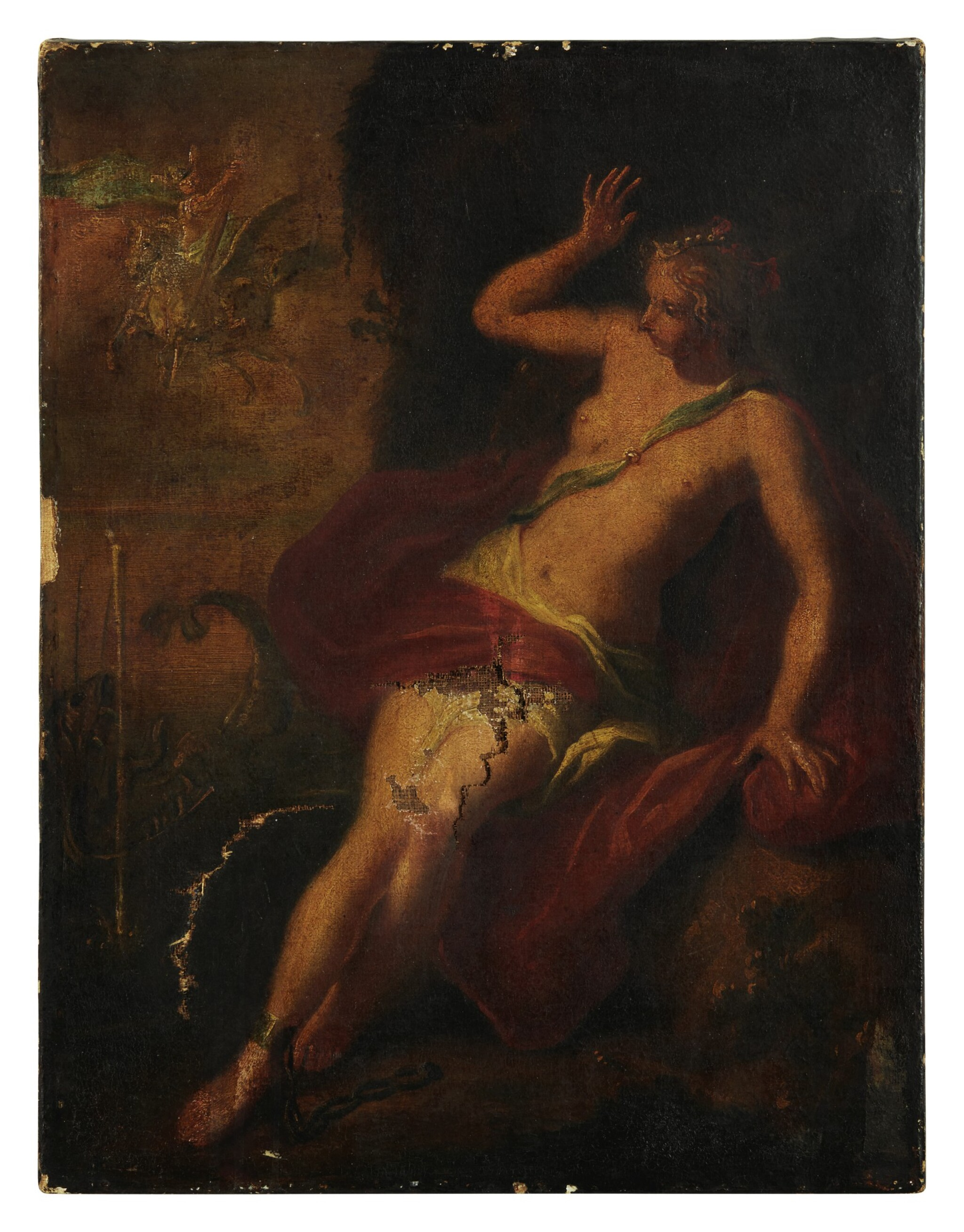 View full screen - View 1 of Lot 102. Sold Without Reserve | VENETIAN SCHOOL, 18TH CENTURY | PERSEUS AND ANDROMEDA.