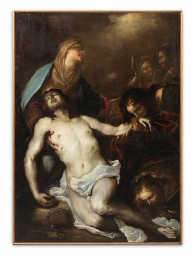 View 2. Thumbnail of Lot 24. The Lamentation of Christ.