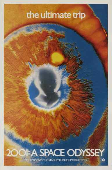 View 1. Thumbnail of Lot 4. 2001: A Space Odyssey (1968) poster, US .