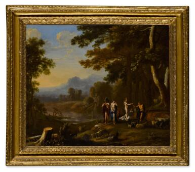 View 5. Thumbnail of Lot 26. Polyphemus and Galatea; The Judgment of Paris.